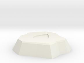 Water Rune in White Natural Versatile Plastic