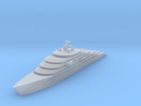 Miniature Gleam Project Super Yacht - Nauta Design in Smooth Fine Detail Plastic