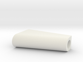 LEGO RUDDER BLOC in White Natural Versatile Plastic