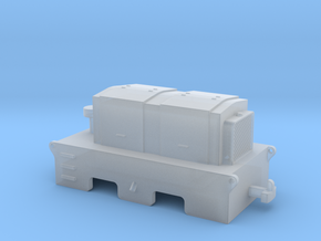 D1 H0e / 009 Diesel tractor in Smooth Fine Detail Plastic