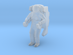1/24 Astronaut Working in Space in Smooth Fine Detail Plastic
