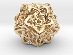 Celtic D12 in 14K Yellow Gold