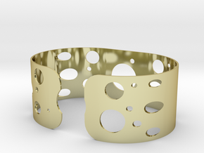 Circles bracelet in 18k Gold Plated Brass