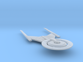 Federation Crossfield-Class Science Vessel 1:7000 in Smooth Fine Detail Plastic