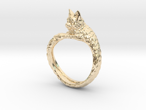 Cat Ring in 14K Yellow Gold: 9 / 59