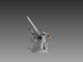 "QF 3"" 20 cwt AA Gun 1/128 in Smooth Fine Detail Plastic"