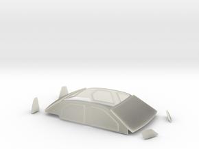 Clear parts Dacia Logan S2000 in Transparent Acrylic