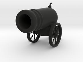Cannon in Black Natural Versatile Plastic