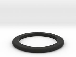 DM1-Ring 2.5mm in Black Natural Versatile Plastic