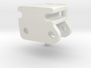 Quick coupler in White Natural Versatile Plastic