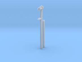 1/40 DKM Schnorkel Pole w. Raising Mechanism in Smooth Fine Detail Plastic
