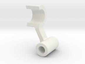 RII light LED mount right side in White Natural Versatile Plastic: 1:10