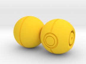 Begleri - Pokeball (Set) in Yellow Processed Versatile Plastic