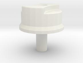 Fuel filler cap D90 model 2 Team Raffee in White Natural Versatile Plastic