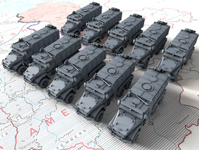 1/700 Russian Ural Typhoon 63095 MRAP x10 in Smoothest Fine Detail Plastic