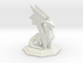 Spyro Crystal Dragon in White Natural Versatile Plastic