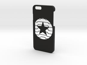 Winter Soldier Phone Case-iPhone 6/6s in Black Natural Versatile Plastic