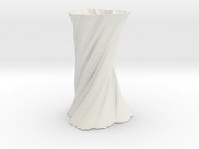 Vase 461 in White Natural Versatile Plastic