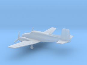 Beechcraft Model 50 Twin Bonanza in Smooth Fine Detail Plastic: 1:200