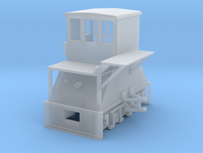 N-scale Coker (LEFT-hand version) in Smooth Fine Detail Plastic