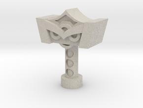Mjolnir 3 3/4in Scale! in Natural Sandstone