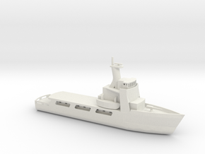 1/285 Scale USCGC Vigorous WMEC-627 in White Natural Versatile Plastic
