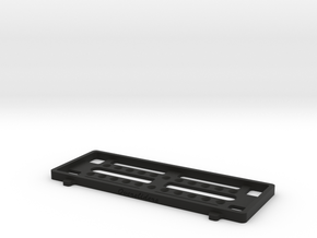 FULL SIZE BATTERY TRAY (For Weight Shift Frame) in Black Natural Versatile Plastic