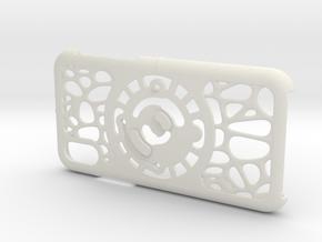 for iPhone X : geo : CASECASE CLICK in White Premium Versatile Plastic