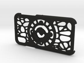 for iPhone X : geo : CASECASE CLICK in Black Premium Versatile Plastic