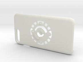for iPhone 8Plus - 7Plus : smooth : CASECASE CLICK in White Premium Versatile Plastic