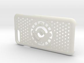 for iPhone 8Plus - 7Plus : cel : CASECASE CLICK in White Premium Versatile Plastic