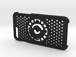 for iPhone 8Plus - 7Plus : cel : CASECASE CLICK in Black Premium Versatile Plastic