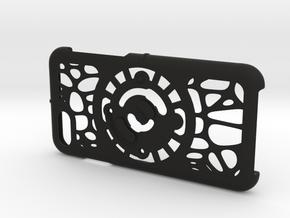 for iPhone 8-7-6-6s : geo : CASECASE CLICK in Black Premium Versatile Plastic