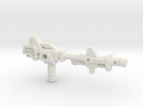Metalhawk / Vector Prime Gun (3mm, 5mm) in White Natural Versatile Plastic: Small