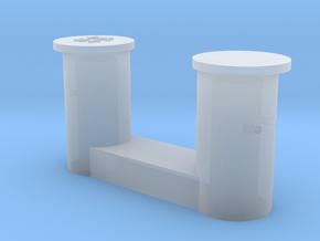 1 bollard small_1 Poller klein 1:50 in Smooth Fine Detail Plastic