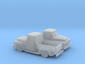 1/110 1956 Ford F100 in Smooth Fine Detail Plastic