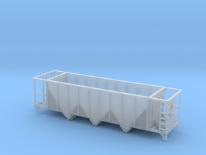 Modern Aggregate Hopper CSX N (1/160) in Smooth Fine Detail Plastic