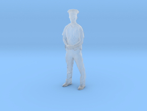 Printle F Don Knotts - 1/87 - wob in Smooth Fine Detail Plastic