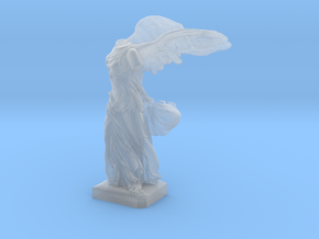 """Winged Victory (5"""" tall) in Smooth Fine Detail Plastic"""