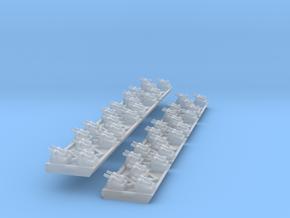 Hydra Gun Batteries (8) in Smooth Fine Detail Plastic