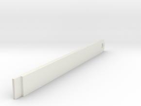 losi xx cr battery strap in White Natural Versatile Plastic