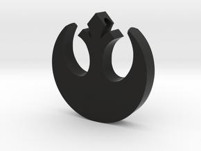 Star Wars Rebel Necklace in Black Natural Versatile Plastic