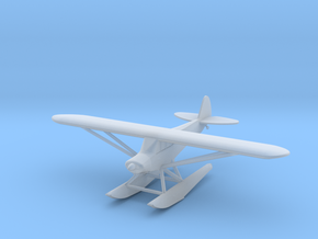 Piper PA18 Float Plane - 1:200scale in Smoothest Fine Detail Plastic