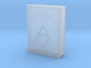 "Legend of Zelda - Book of Mudora - 6"" scale in Smooth Fine Detail Plastic"