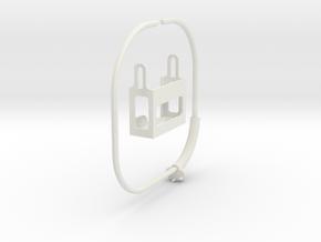 GoPRO Mount for Neck (for HERO3) in White Strong & Flexible: Medium