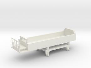 wengernalpbahn Swiss HOe kk 421 guterwagon  in White Natural Versatile Plastic