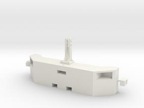 Frontgewicht mit Scheinwerfer breite Version in White Natural Versatile Plastic