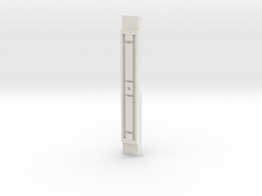 L&Y Bogie bottom crossmember in White Natural Versatile Plastic
