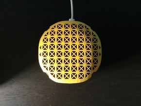 Google Home Mini Cover in Yellow Processed Versatile Plastic