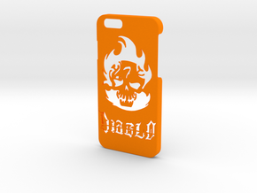 Diablo Phone Case- iPhone 6/6s in Orange Strong & Flexible Polished